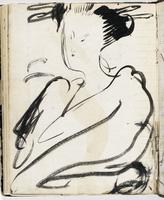 Carnet de dessin de Vuillard