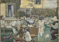 L'apres-midi bourgeoise (la famille Terrasse)