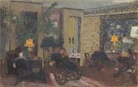 Le Salon au trois lampes rue Saint-Florentin