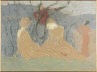 Deux femmes dans un bois