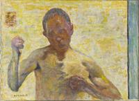 Le boxeur (portrait de l'artiste)