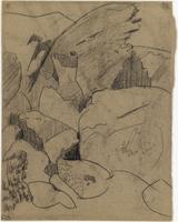 Rochers en montagne
