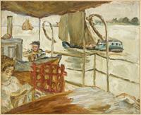 Misia Sert sur le navire d'Edwards