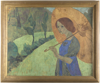 Madame Serusier a l'ombrelle 26004021519  写真素材・ストックフォト・画像・イラスト素材 アマナイメージズ