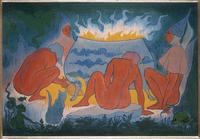 Les Sorcieres autour du feu