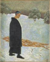 Portrait de Verkade a Beuron