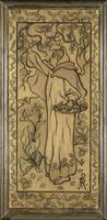 Femme cueillant des pommes ou La cueillette des pommes 26004021533  写真素材・ストックフォト・画像・イラスト素材 アマナイメージズ