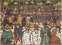 Soldats francais en marche