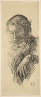 Portrait du peintre Paul Serusier, en buste, de trois quarts a gauche