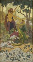 Quadriptyque : la legende de l'Ermite ou la Tentation de saint Antoine