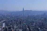 新光摩天展望台より望む台北市街 26018002319| 写真素材・ストックフォト・画像・イラスト素材|アマナイメージズ