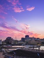 横浜の夕景 26033005281| 写真素材・ストックフォト・画像・イラスト素材|アマナイメージズ