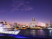 横浜の夕景 26033005284| 写真素材・ストックフォト・画像・イラスト素材|アマナイメージズ