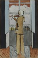 Le Violoniste a la fenetre