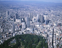 新宿新都心 26058002240| 写真素材・ストックフォト・画像・イラスト素材|アマナイメージズ