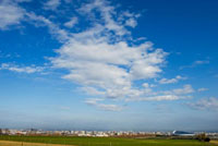 羊ヶ丘展望台と札幌市街