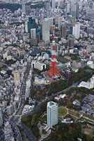 東京タワー周辺 26058024083| 写真素材・ストックフォト・画像・イラスト素材|アマナイメージズ