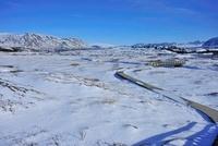 シングヴェトリル国立公園の雪原 26082000317| 写真素材・ストックフォト・画像・イラスト素材|アマナイメージズ