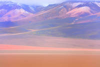 カラフルな砂漠
