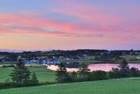 夕焼けのプリンスエドワード島