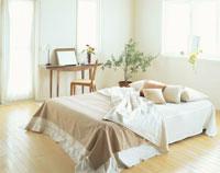 ベッドとドレッサー 26092012116| 写真素材・ストックフォト・画像・イラスト素材|アマナイメージズ