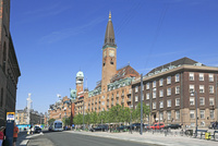 コペンハーゲンの街並み 26105010392| 写真素材・ストックフォト・画像・イラスト素材|アマナイメージズ