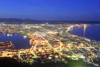 函館山から函館市の夜景