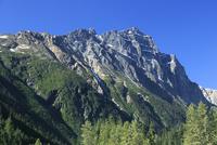 グレイシャー国立公園のマクドナルド山  26105011381| 写真素材・ストックフォト・画像・イラスト素材|アマナイメージズ