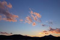 夕焼の山並み