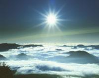 大雪山の銀泉台の日の出