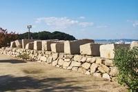 大坂城残石記念公園の石垣石