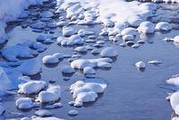 忠別川の冬