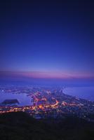 函館の夜景と朝焼け