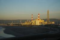勿来発電所の朝