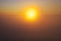 雲海の日の出と屈斜路湖