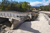 台風被害の橋 小林橋