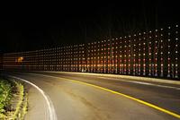 国道273と反射板