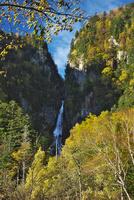 流星の滝の紅葉