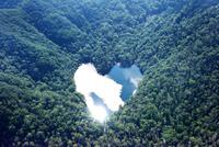 豊似湖 空撮 26120042030| 写真素材・ストックフォト・画像・イラスト素材|アマナイメージズ