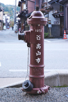 上三之町付近の消火栓