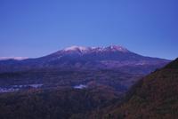 朝の御嶽山