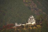 郡上八幡城の朝 26120042242| 写真素材・ストックフォト・画像・イラスト素材|アマナイメージズ
