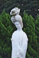 楊貴妃の里 楊貴妃像 26120042562| 写真素材・ストックフォト・画像・イラスト素材|アマナイメージズ