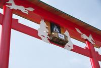 元乃隅稲成神社 26120042570| 写真素材・ストックフォト・画像・イラスト素材|アマナイメージズ