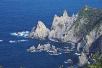 青海島の大門・小門 26120042574| 写真素材・ストックフォト・画像・イラスト素材|アマナイメージズ