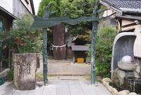 水木しげるロード 妖怪神社 26120042606| 写真素材・ストックフォト・画像・イラスト素材|アマナイメージズ