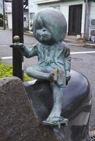水木しげるロード ゲゲゲの鬼太郎 26120042611| 写真素材・ストックフォト・画像・イラスト素材|アマナイメージズ