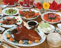 北京ダックと中華料理