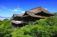 夏の清水寺舞台