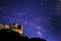 石垣島天文台と天の川